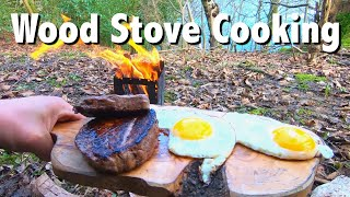 Award Winning Steak! - Woodland Shelter & COLD Water Therapy!