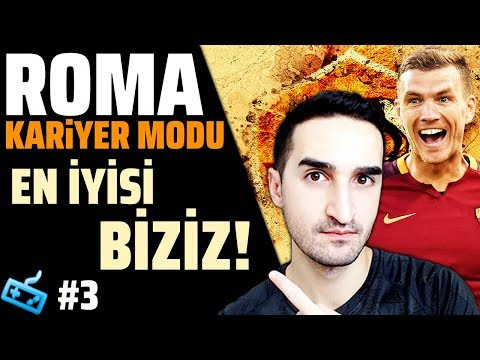 FIFA 18 Career Mode // WINNING CONTINUES !! MİLAN.İ..NO CONTEST! // AS ROMA Part 3