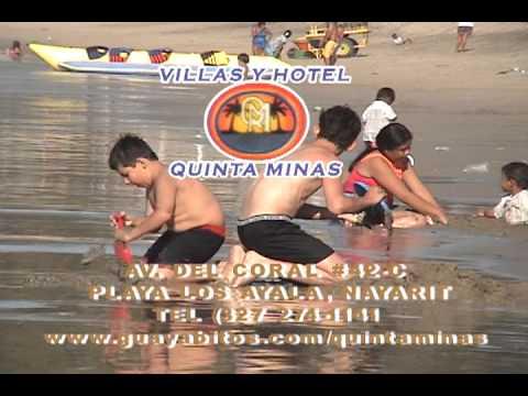 Hotel y villas quinta minas youtube for Villas quinta minas