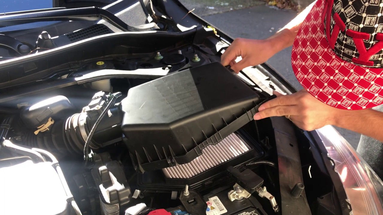 2017 2018 Honda Accord Engine And Cabin Air Filter Change