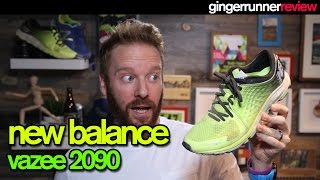 NEW BALANCE VAZEE 2090 REVIEW | The Ginger Runner