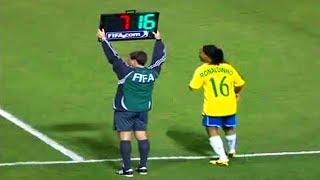 Dünyanın En İyi Futbolcuları İlk Kez Sahaya Çıkıyor ( Ronaldo, Messi, Ronaldinho İlk Maçı )