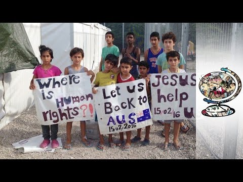 Nauru's Refugee Children On Off-Shore Detention Centres