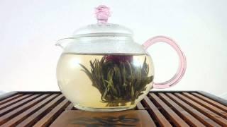 Процесс заваривания зеленого чая
