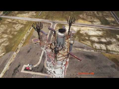 UAV utilization for Live Flare tip, structure and pipe line inspections