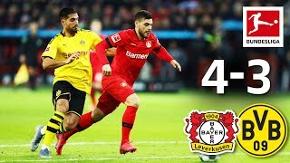 7-goal thriller - great goals from can, bailey, hummels and co.► sub now: https://redirect.bundesliga.com/_bwcsbayer leverkusen against borussia dortmund is ...
