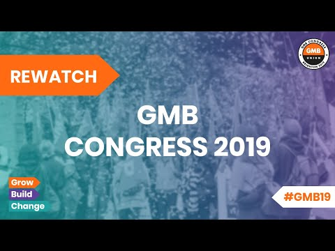 GMB Congress 2019 | Monday | Afternoon