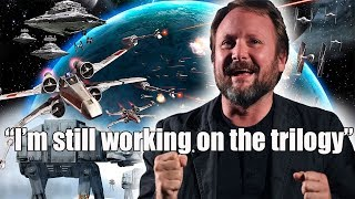 Rian Johnson Star Wars Trilogy is still happening