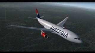 Air Serbia A330-200 New York JFK - Belgrade (FSX)