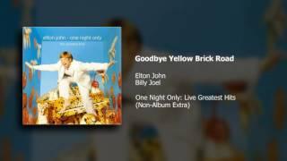 Elton John (w/ Billy Joel) - Goodbye Yellow Brick Road (Live At MSG/2000)