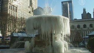 В центр и на восток США пришли морозы (новости)