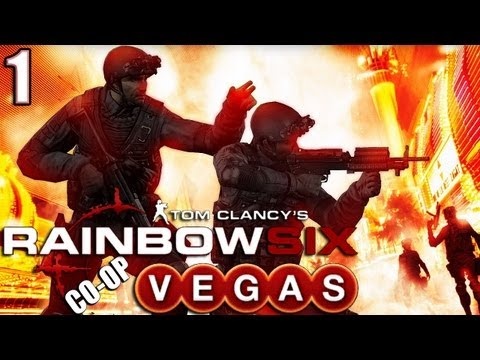 Let's Play Rainbow Six: Vegas (Co-op), Part 1