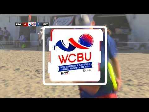 WCBU 2017   FRANCE vs ESTONIA (Pool Play) (Open)