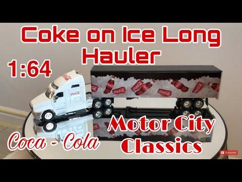 Coke on Ice Long Hauler - Motor City Classics - 1:64 scale