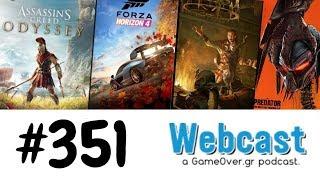 Webcast #351 - AC Odyssey, Forza Horizon 4, Bard