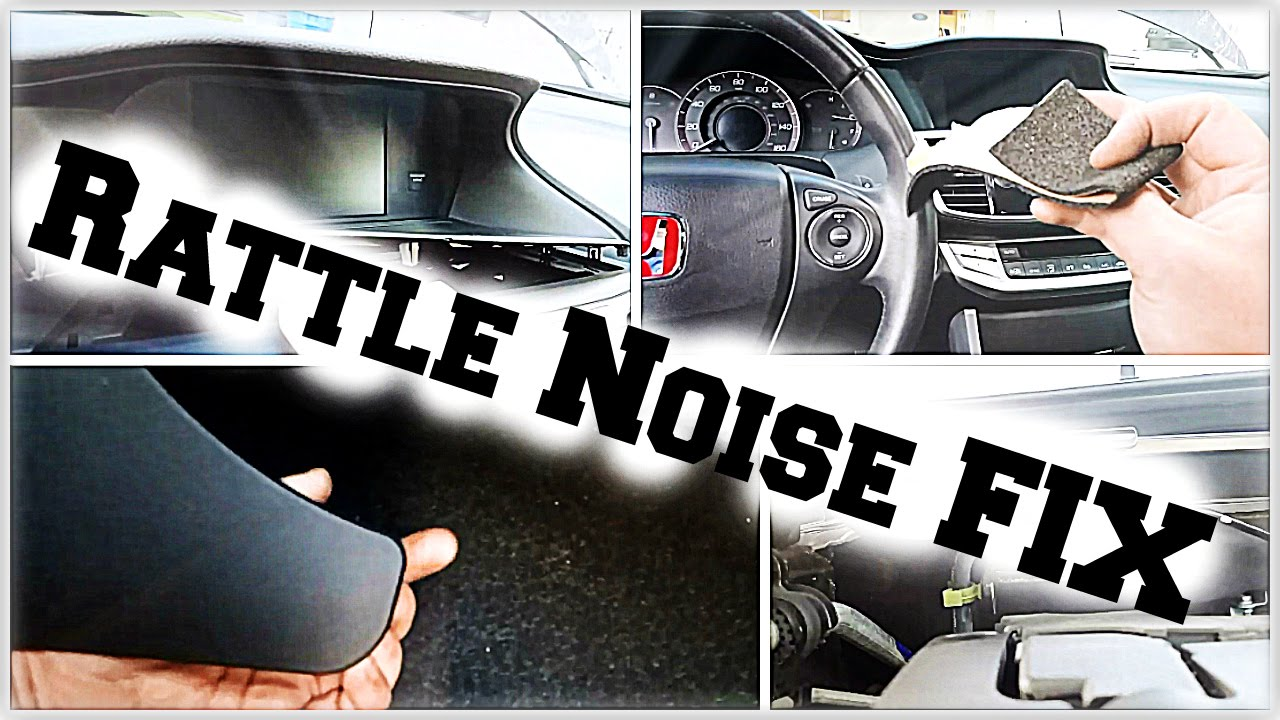 Diy 9thgen Honda Accord Interior Rattle Noise Fix Diycarmodz Youtube