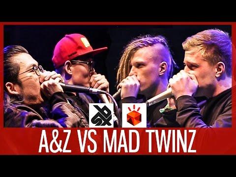 MAD TWINZ vs A&Z  |  Grand Beatbox TAG TEAM Battle 2017  |  FINAL