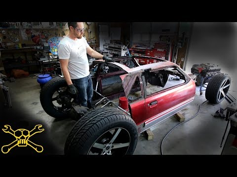 Tube Chassis Work On The Mustang Hot Rod Build