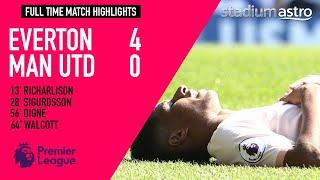 Everton 4 - 0 Manchester United   EPL Highlights   Astro SuperSport
