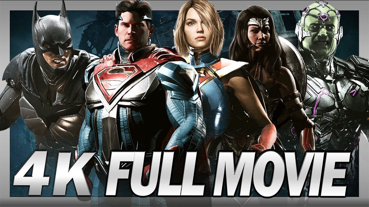 Watch Injustice 2PC 4K Full Movie Cinematics