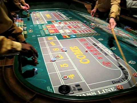 Craps table game Las Vagas.2