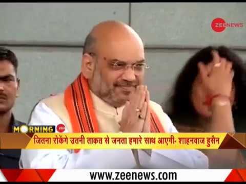 BJP chief Amit Shah to launch poll campaign in West Bengal's Malda today