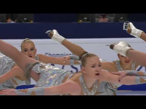 RUS) TEAM PARADISE - SP / World Synchronized Championships 2018