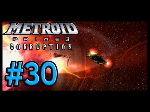 Metroid Prime 3: Corruption 100% Walkthrough Part 30 - GFS Valhalla