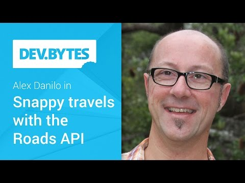 Snappy travels with the Roads API