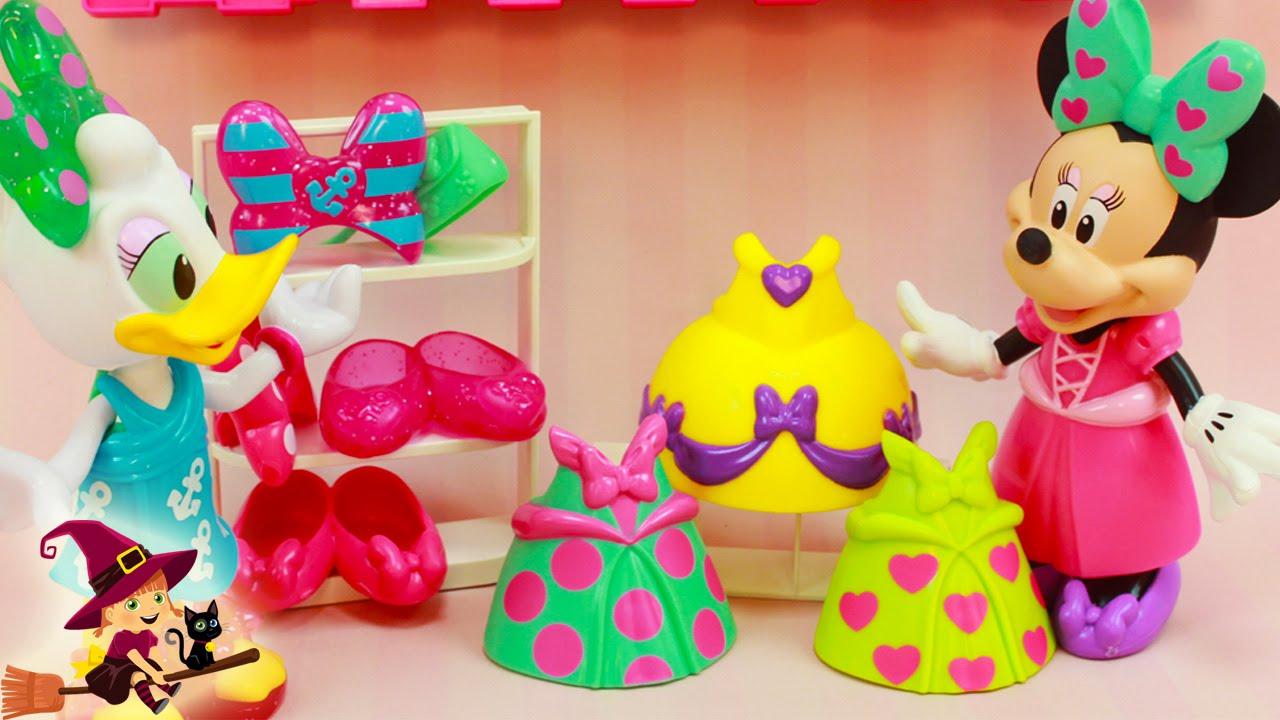 Juegos de minnie mouse de vestir