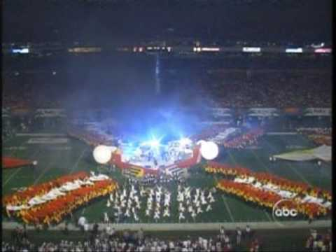 Ashlee Simpson - Booed at Orange Bowl