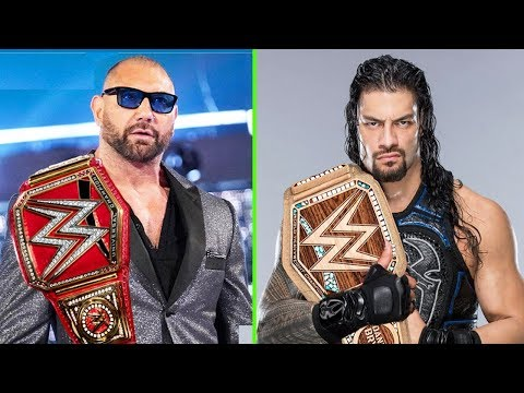 10 Leaked WWE Plans for After WrestleMania 35 - Big Plans for Batista & Roman Reigns thumbnail