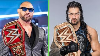 10 Leaked WWE Plans for After WrestleMania 35 - Big Plans for Batista & Roman Reigns