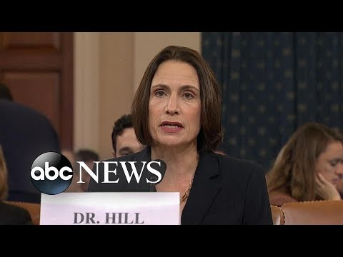 Fiona Hill blasts 'fictional narrative' that Ukraine interfered in elections | ABC News