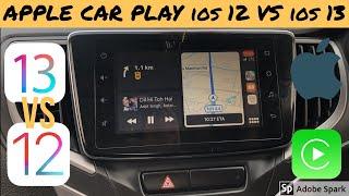 Apple Car Play iOS 12 VS iOS 13 (Major Updates) हिंदी में
