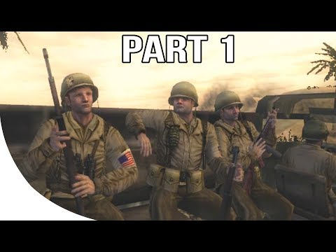 Call of Duty 2 Big Red One - Gameplay Walkthrough Part 1 - Tunisia
