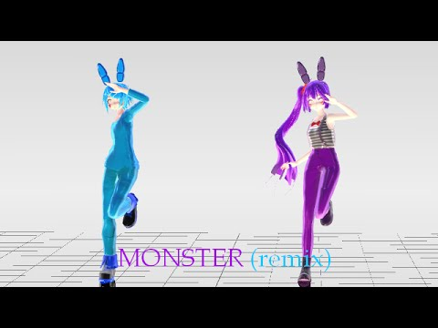 MMD FNAF MONSTER (remix)