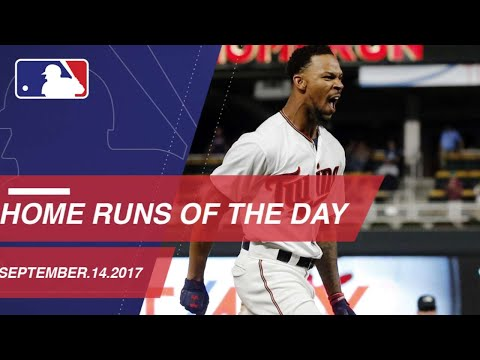 Check out all the homers around the Majors: 9/14/17