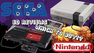 Ed Reviews ~ Sega Master System or Nintendo Entertainment system