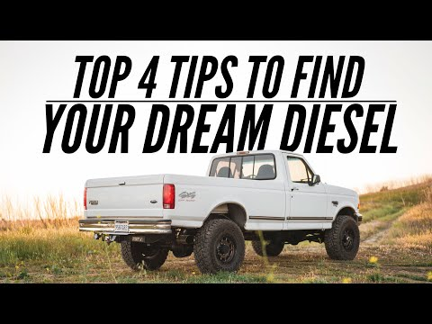 TOP 4 TIPS TO FIND YOUR DREAM DIESEL | My Favorite Secrets a