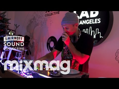 N.A.S.A. hip hop and bass set in The Lab LA