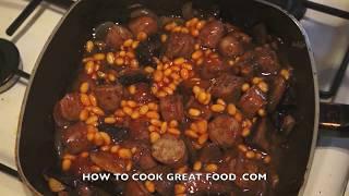Sausage & Mushroom Potato Hotpot Recipe