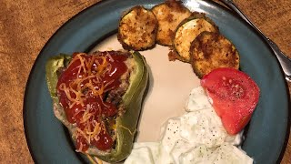 What's for Dinner?  Easy Family Meal Ideas + How to Make Stuffed Peppers!