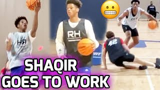 Shaqir O'Neal Shows Out In Front Of COLLEGE COACHES! Showcase Camp With Top Players From Georgia 💯