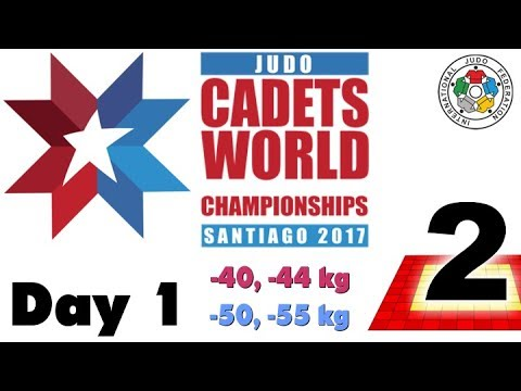 World Judo Championship Cadets 2017: Day 1 - Tatami 2