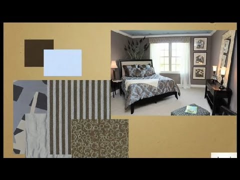What Kind Of Decor Goes With Brown & Blue Bedding? : Bedroom Accents & Redesign