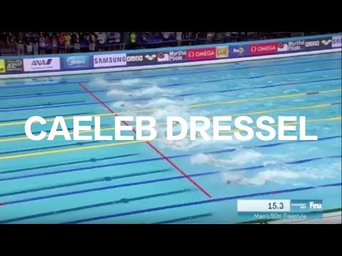 CAELEB DRESSEL WINS 50M FREESTYLE - Swimming World Championships 2017 (race video)