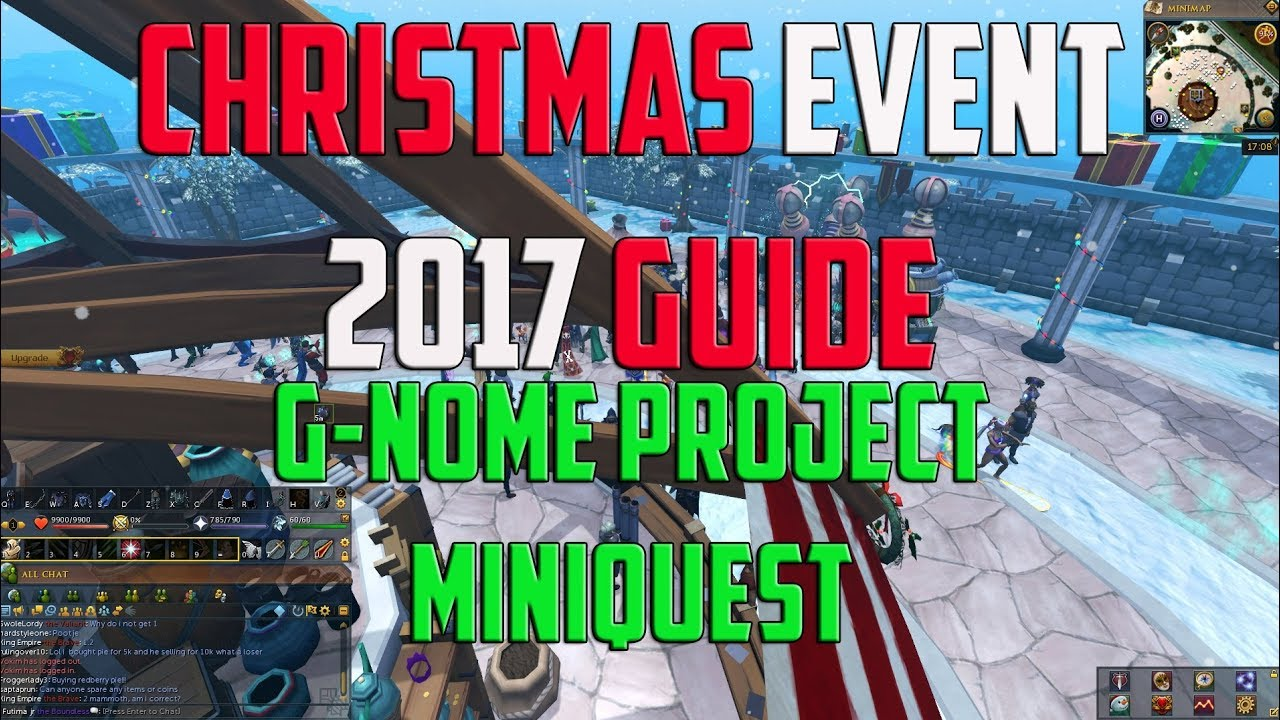 Rs3 Christmas 2019 Runescape 3   Christmas event miniquest guide   The G nome quest