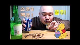 인싸들의 핫한 비율 소주9:맥주1 꿀주 Mukbang(…