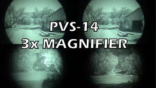 PVS-14 3x Magnifier